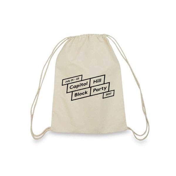 Image of Canvas Drawstring Bag