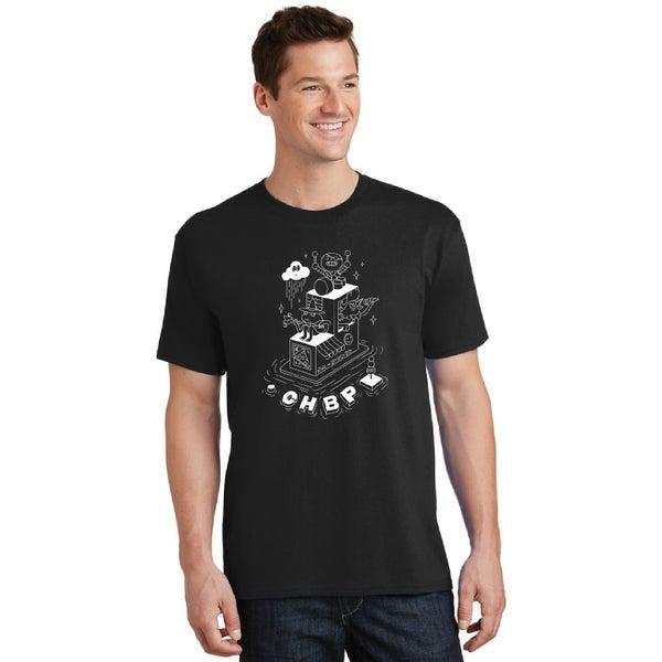 Image of Lineup T-Shirt - Black