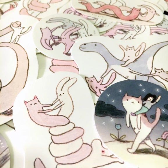 Image of Assorted Stickers (7-pack)