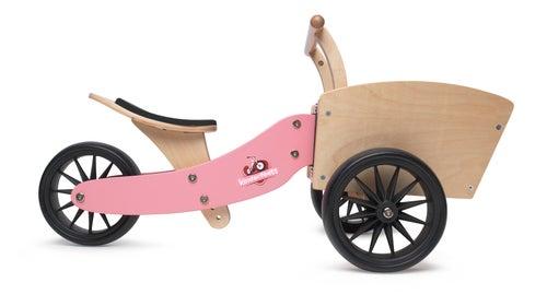 Image of Kinderfeets Cargotrike Pink