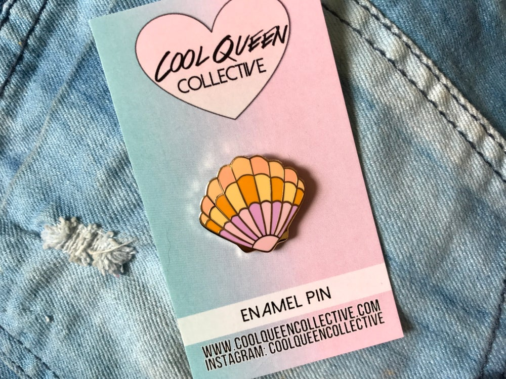 Image of Sunrise Shell Pin v. 2