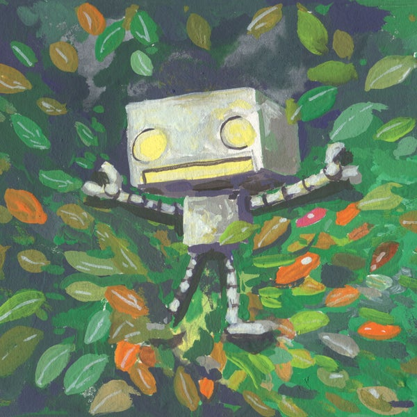 Fall In Leaf - Matt Q. Spangler Illustration