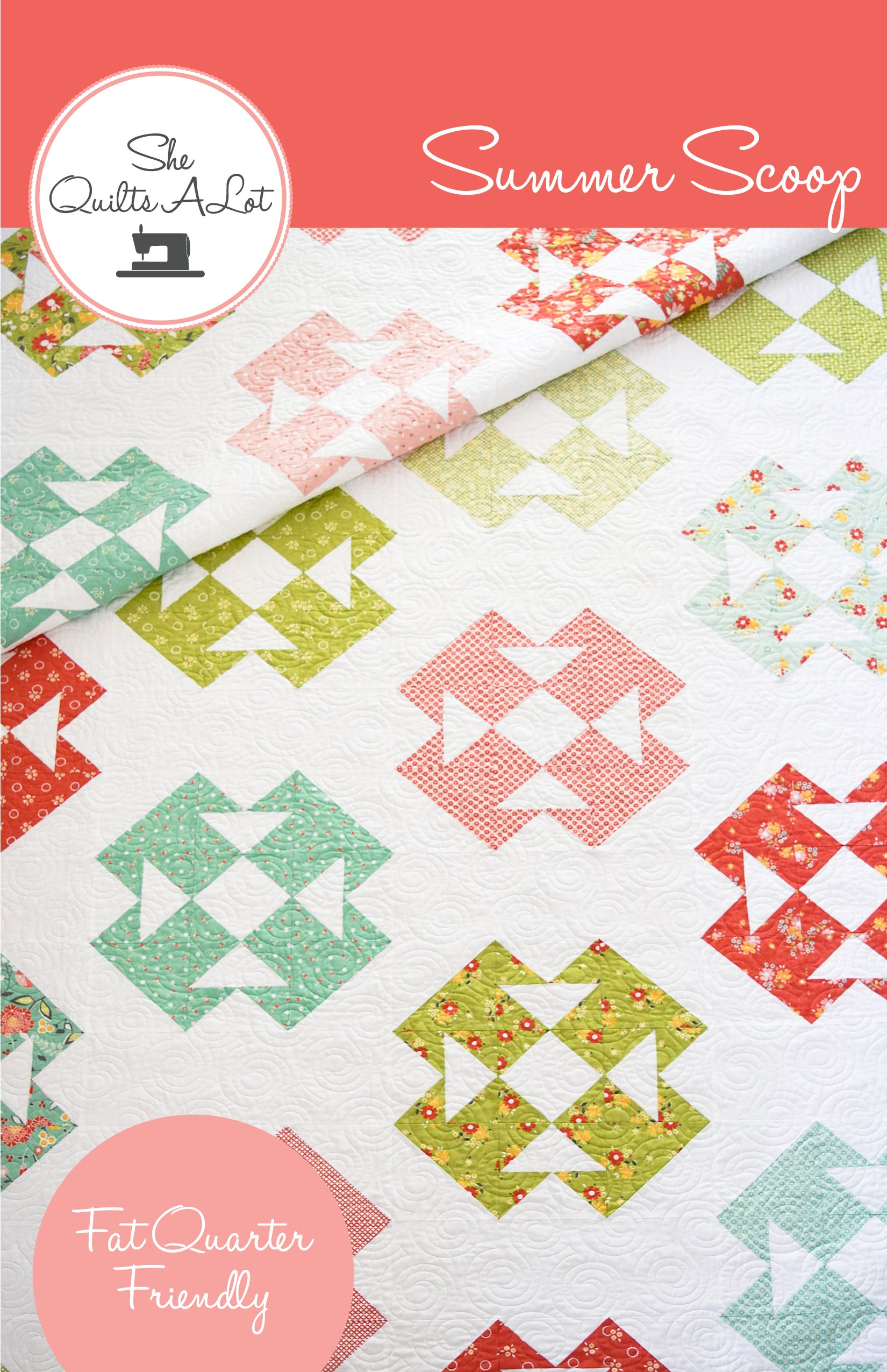 Summer Scoop Pdf Pattern She Quilts Alot