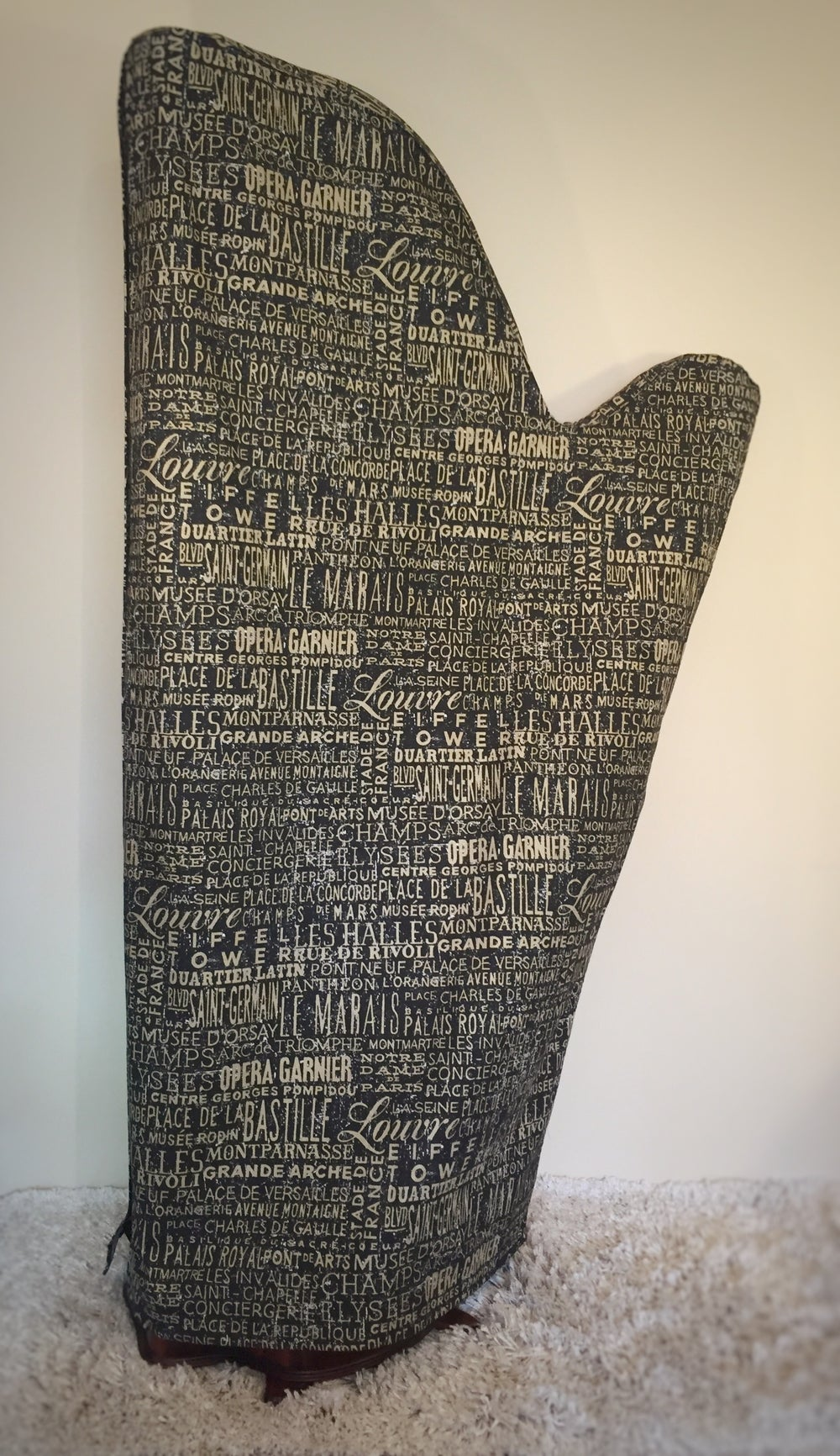 """Image of """"Urban"""" Harp Dust Cover"""