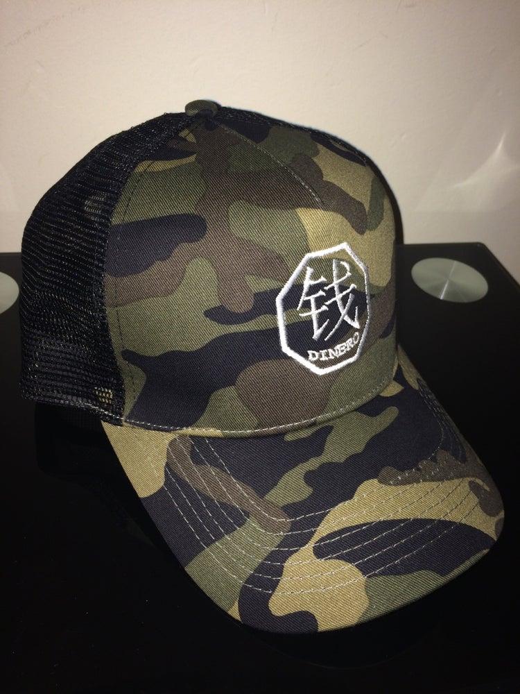 Image of Dinero Trucker Cap - Camouflage