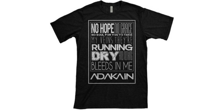 Image of 'No Hope' tee