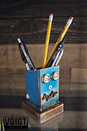 Image of Desk organizer/Small: Pencil Pusher Robot B