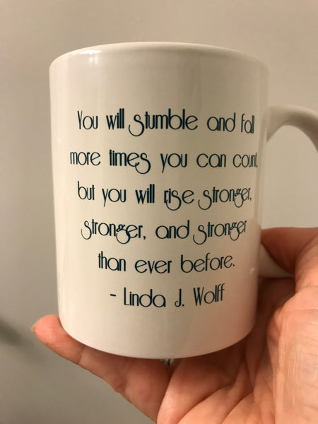 Image of Inspiration In a Cup - Coffee Mug