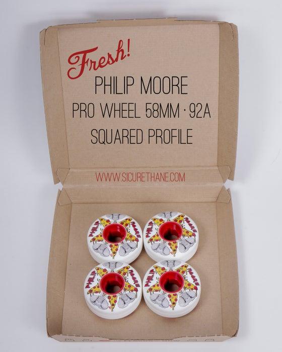 Image of Philip Moore pro wheel