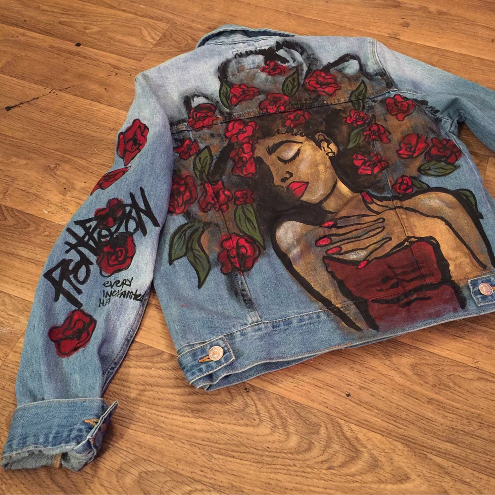 Image of The Beauty Rose Denim Jacket