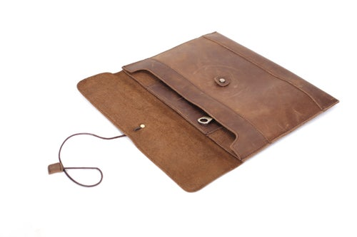 Image of Handmade Fashion Envelope Clutch Purse Women Messenger Bag Vintage Shoulder Bag 8890