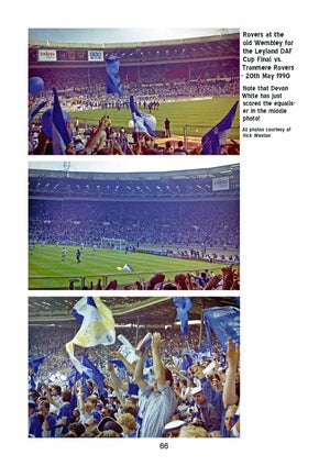 Image of Away The Gas - Bristol Rovers book - FREE UK delivery