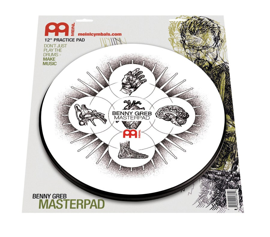 "Image of Meinl 12"" Benny Greb Practice Pad"
