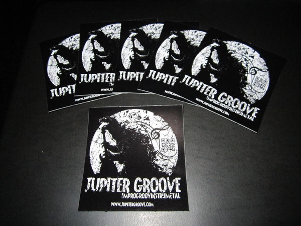 Image of Jupiter Groove Stickers