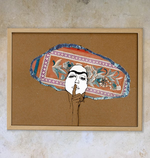 Image of The hat - inspired by Schiele