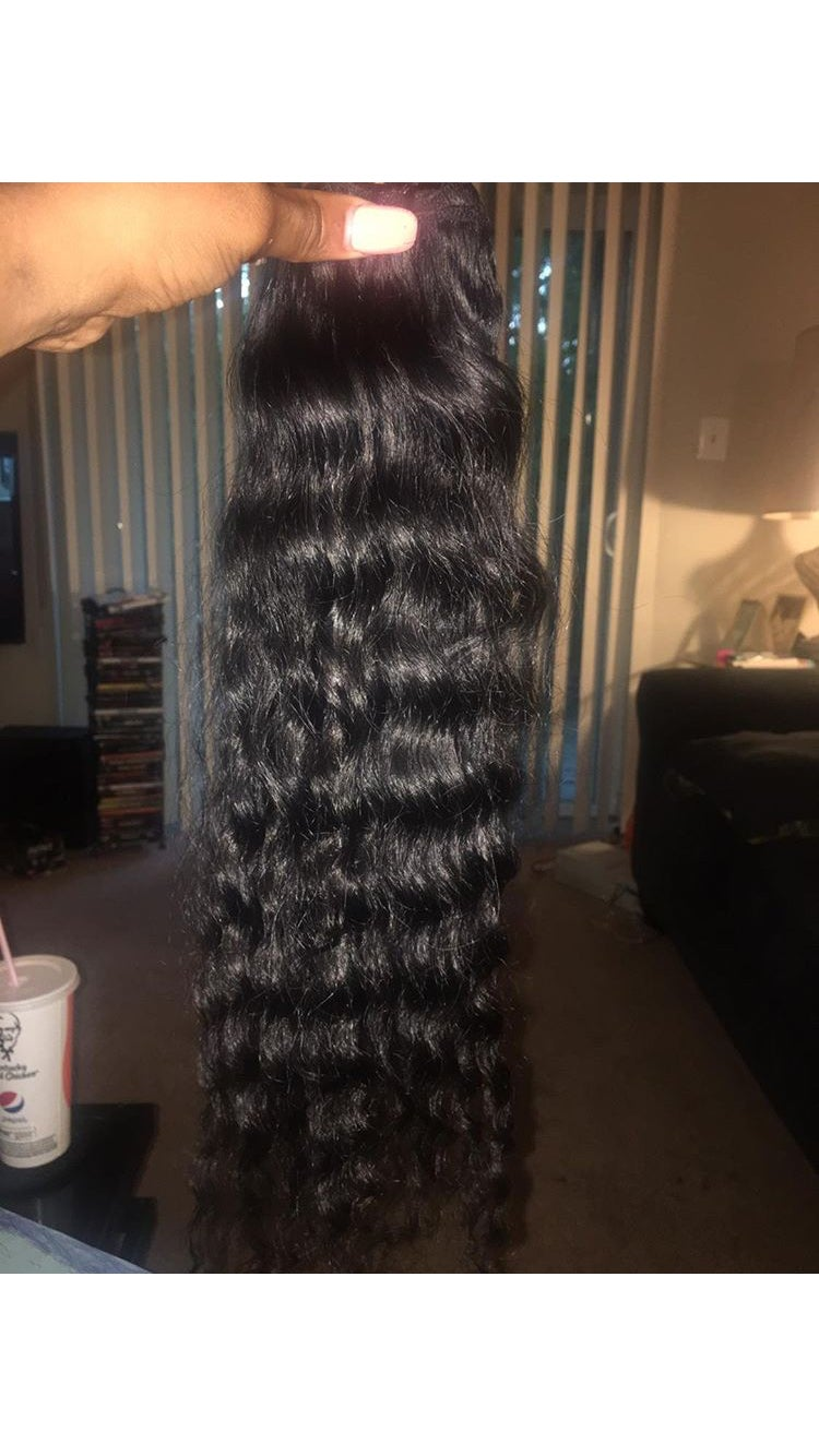 Image of Raw Indian Curly
