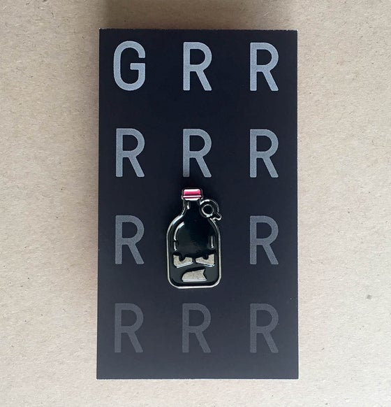 Image of Grrrrrowler  Enamel Pin