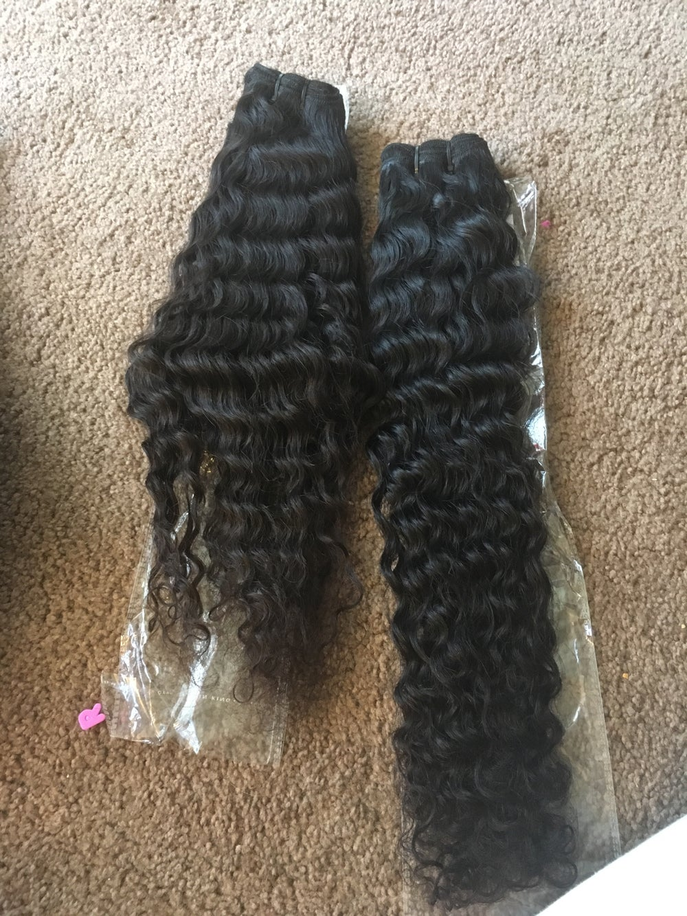 Image of Raw Cambodian Curly