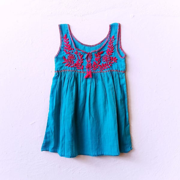 Image of Organic Sea Breeze Dress