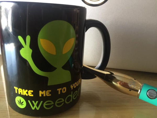 "Image of Coffee Cup ""take me to your weeder""  -FREE SHPPNG-  (USA ONLY)"