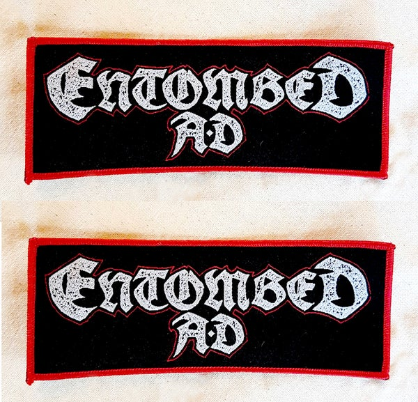Image of PATCH - Entombed AD Australian Tour 2017