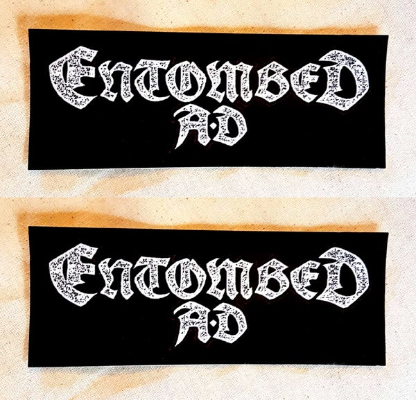 Image of STICKER (Logo) - Entombed AD Australian Tour 2017
