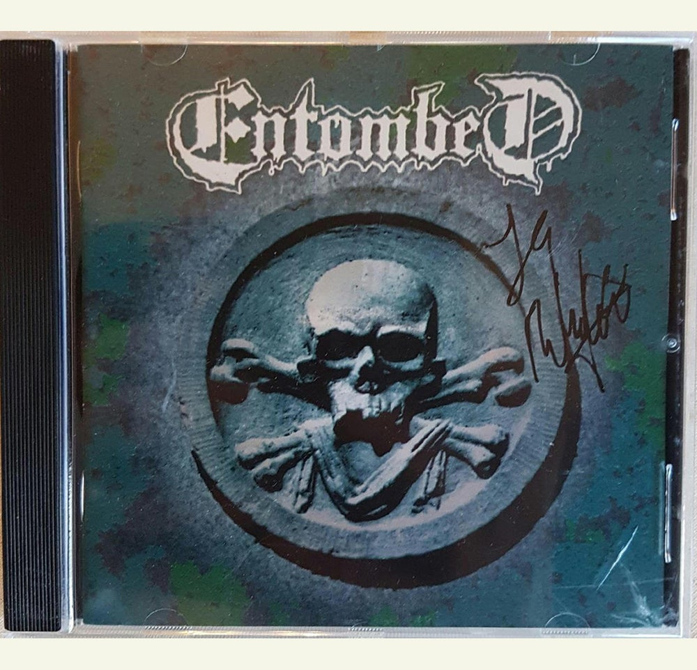 Image of CD (SIGNED) - Entombed
