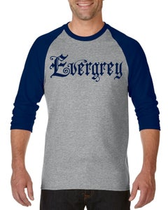 Image of Evergrey Navy / Grey Raglan