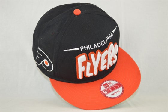 Image of Philadelphia Flyers Bubble Script New Era 950 Snapback