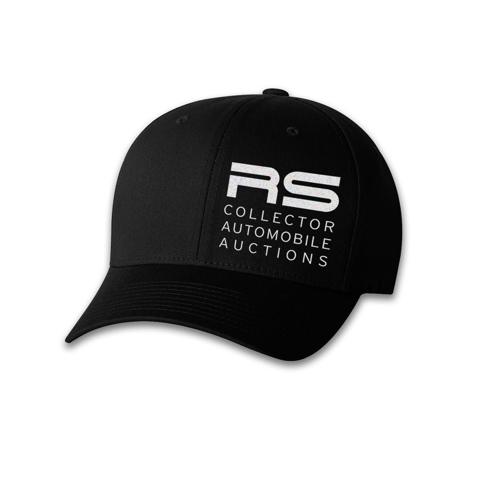 Image of Block Logo Flex Fit Hat Black