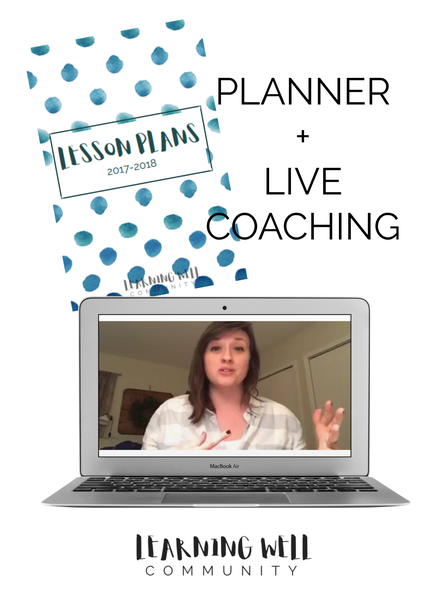 Image of LIVE COACHING CLASS + 2017-18 LESSON PLANNER