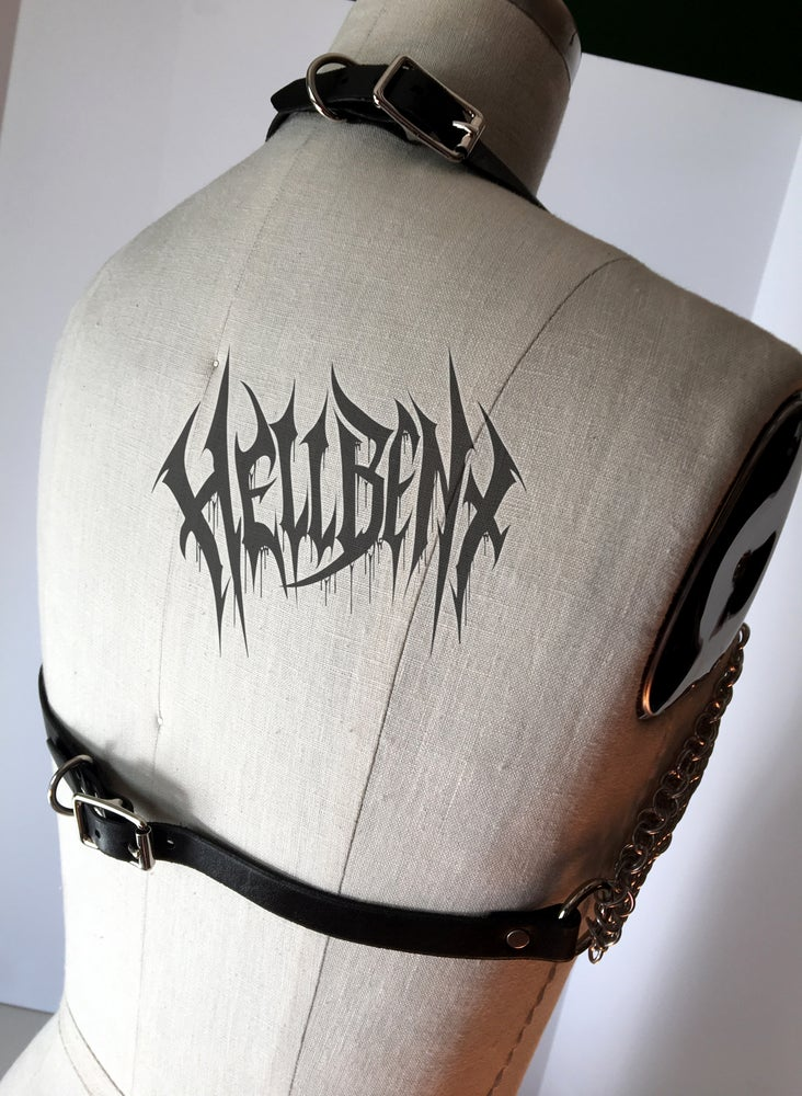 Image of Hellbent Valkyrie Chainmaille top