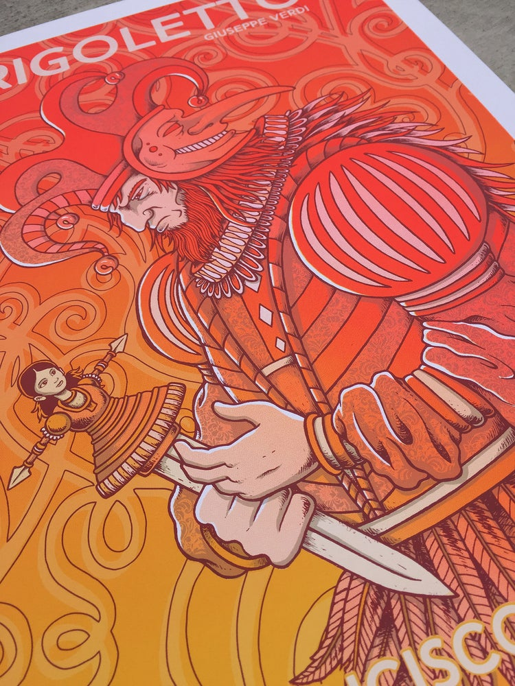 "Image of SF Opera ""Summer of Love"" prints"