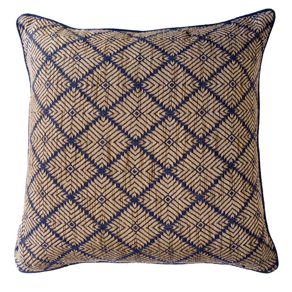 Image of Phulkari Navy Lounge Cushion