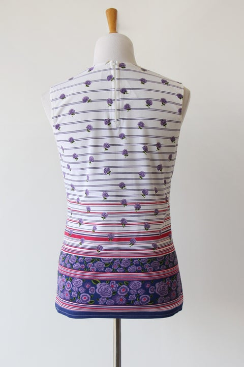 Image of SOLD Purple Garden Blouse