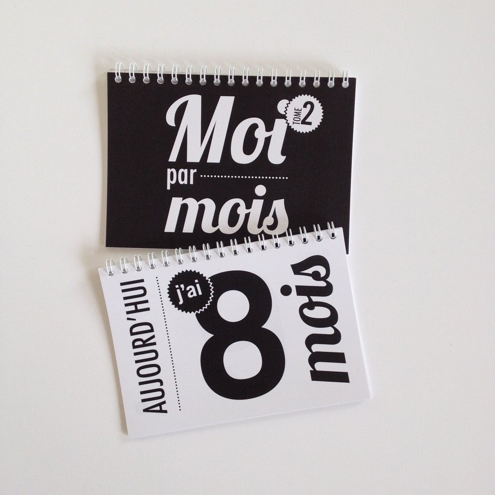 Image of Moi par mois - Duo tomes 1 & 2 - De 1 mois à 2 ans