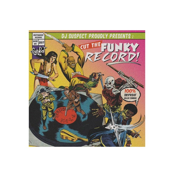 """Image of Beat Squeeze Records - Cut The Funky Record (7"""" Purple Vinyl)"""