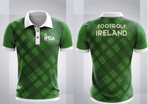 Image of FootGolf Ireland Jersey