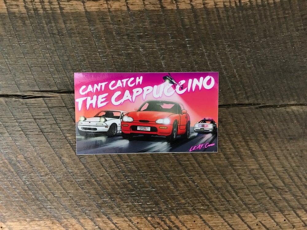 Image of CAPPUCCINO sticker
