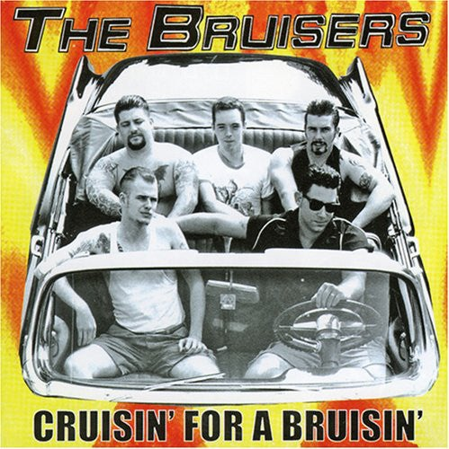 Image of The Bruisers - Cruisin for a Bruisin LP (yellow vinyl)