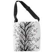Image of Cross Body Bag, Scandinavian Vines and Dots