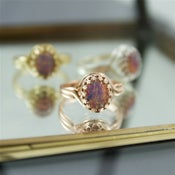 Image of Fotia - Fire Opal Ring
