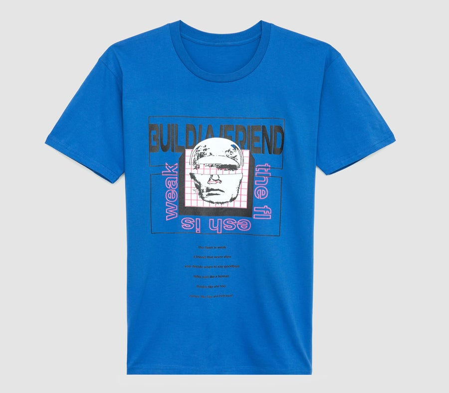Image of Synthetic Skin Tee (Royal)