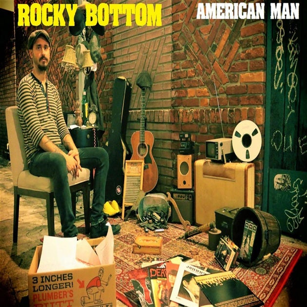 Image of Rocky Bottom- American Man (CD)