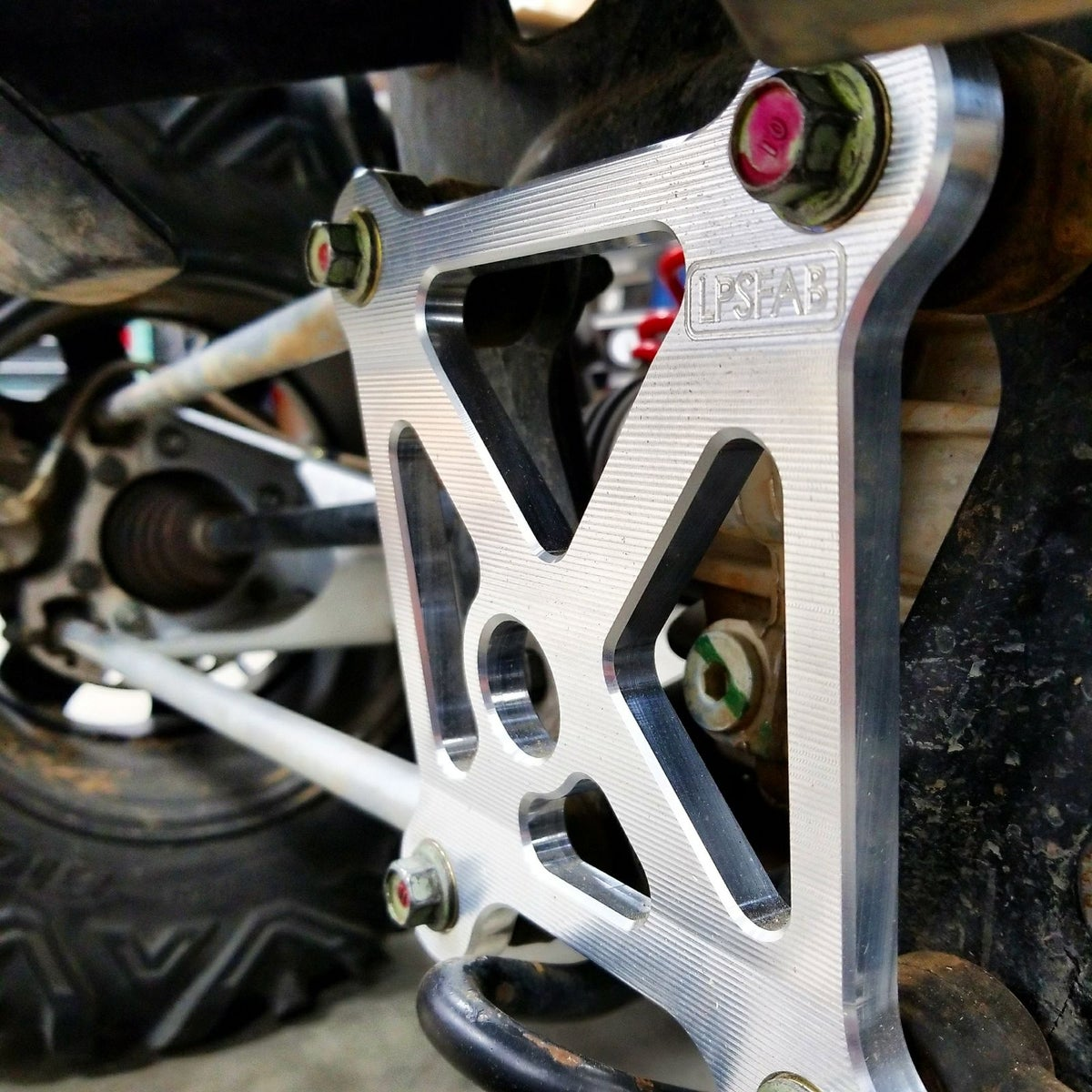 Rzr Xp 1000 And Turbo Radius Rod Support Bracket Lpsfab