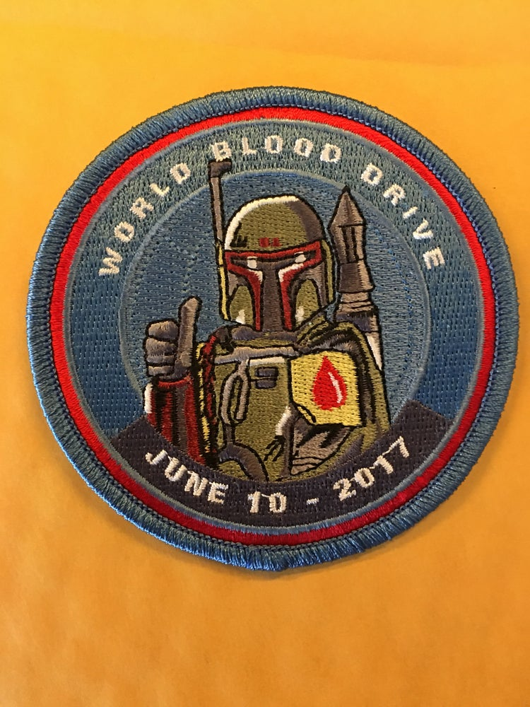 Image of 2017 World Blood Drive Day Patch - INSTOCK