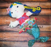 Image of Made to order - Merissa the Mermaid Learning Doll