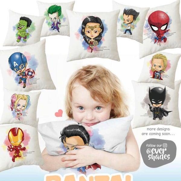 Image of Superhero Pillow