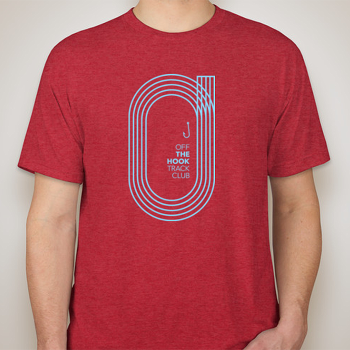 Image of OFF THE HOOK TRACK CLUB Men's T-Shirt