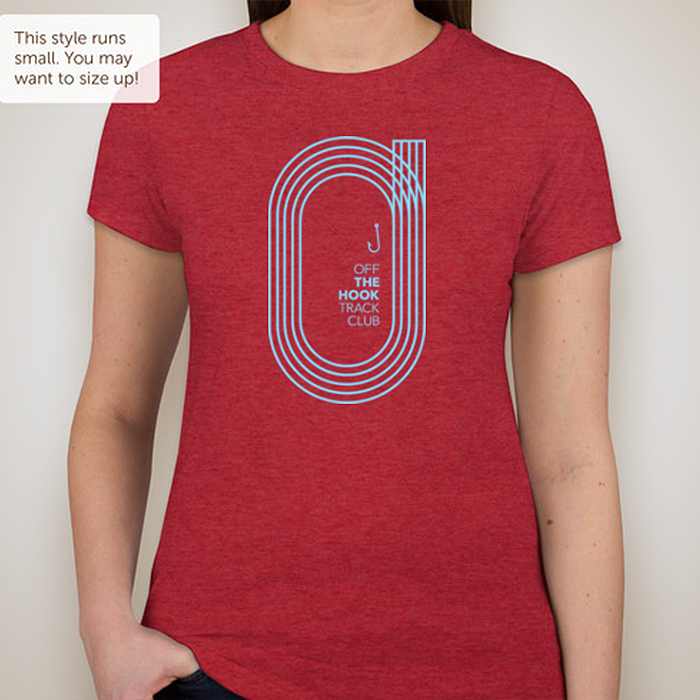 Image of OFF THE HOOK TRACK CLUB Women's T-Shirt